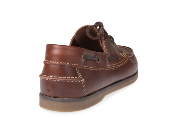 Back Image for 100E Leather Boat Shoe