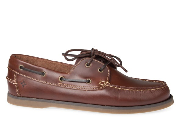 Hero Image for 100E Leather Boat Shoe