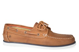 100e Leather Boat Shoe