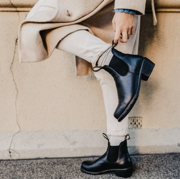 Angle Image for 1671 Pull on Leather Boot