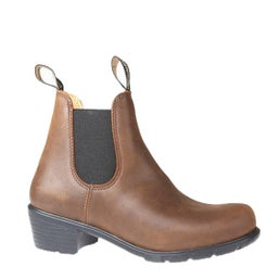 1673 Pull On Leather Boot