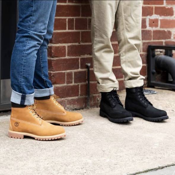 Angle Image for 6 Inch Premium Mens Lace-up Boot