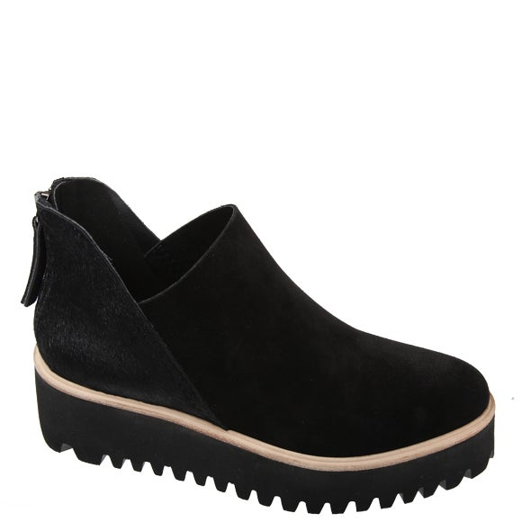 Angle Image for AB Fur Shootie Tread Leather Shoe