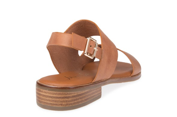 Back Image for Beach Strappy Leather Sandal
