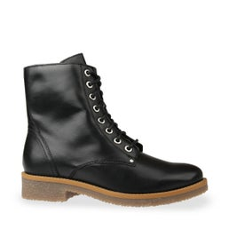 Besty Leather Lace Up Boot