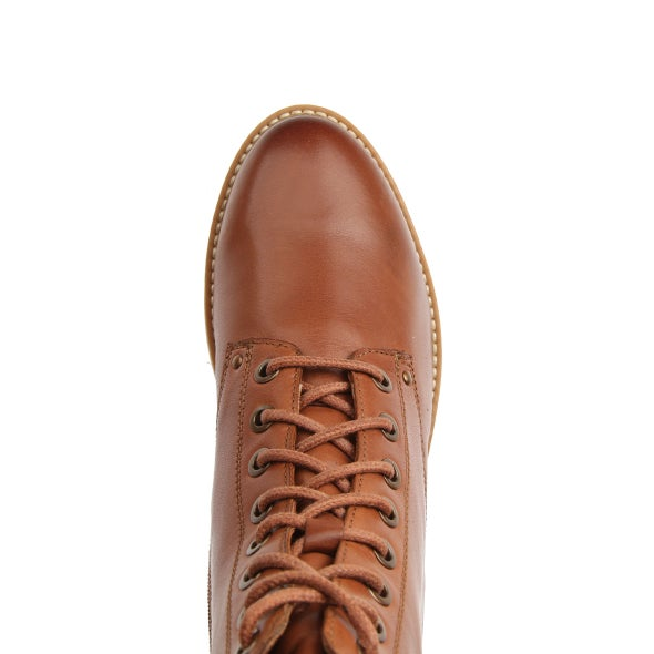 Top Image for Besty Leather Lace up Boot
