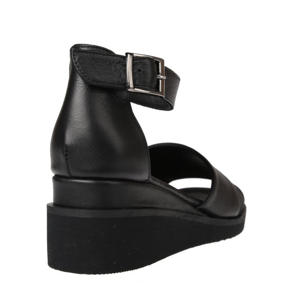 Back Image for Birdy Leather Wedge Sandal