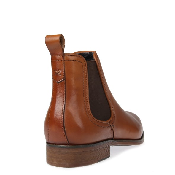 Back Image for Bolton Leather Pull on Boot