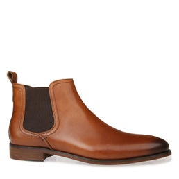 Bolton Leather Pull On Boot