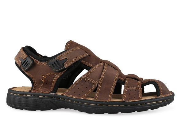 Hero Image for Brian Leather Sandal