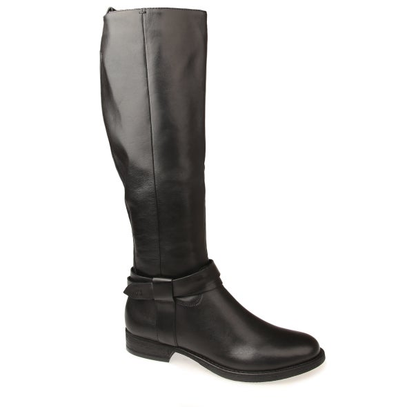 Hero Image for Calico leather knee high boot