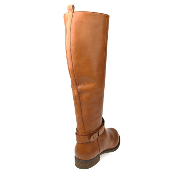 Back Image for Calico leather knee high boot