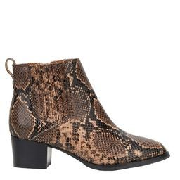 Candle Leather Ankle Boot