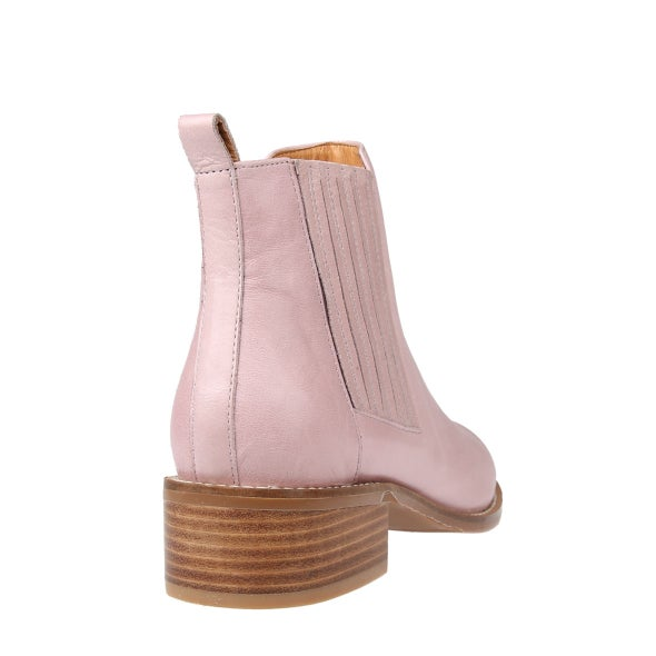 Back Image for Cassie Leather Ankle Boot