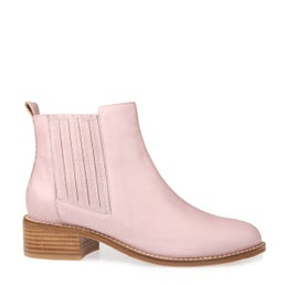 Cassie Leather Ankle Boot