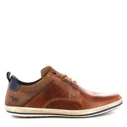 Charger Leather Lace-up Casual Shoe
