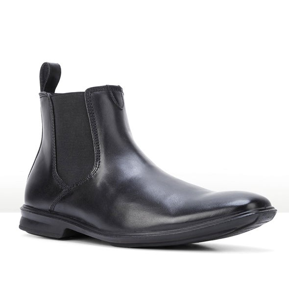 Angle Image for Chelsea Leather Gusset Boot