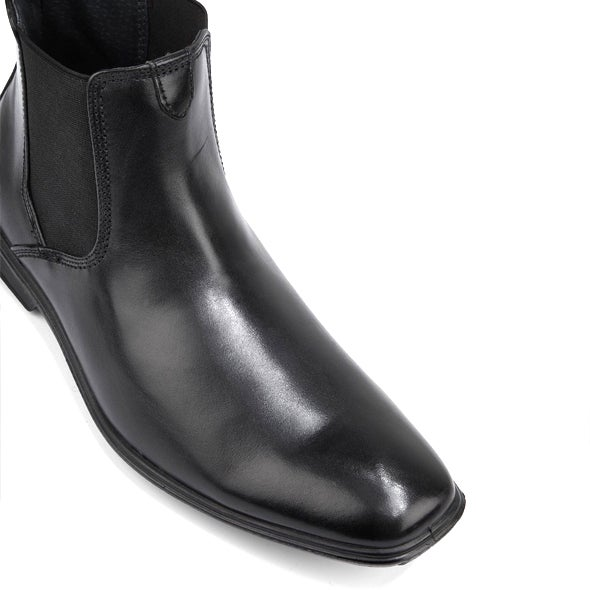Front Image for Chelsea Leather Gusset Boot