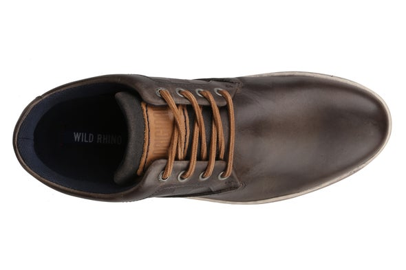 Top Image for Coaster Leather Lace-up Casual Shoe