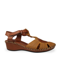 Cookie Strappy Leather Sandal