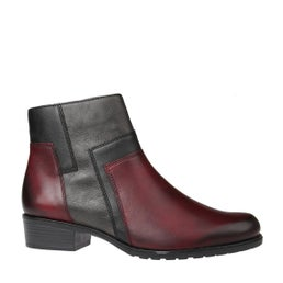 D6879-35 Leather Ankle Boot