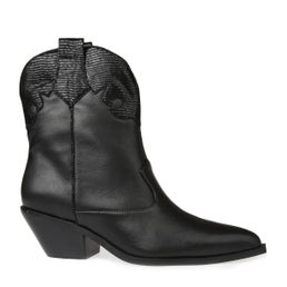 Delfi Leather Pull On Boot