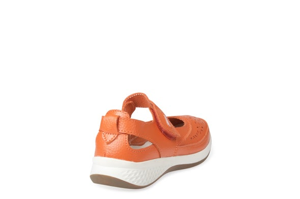 Back Image for Dena Strappy Leather Shoe