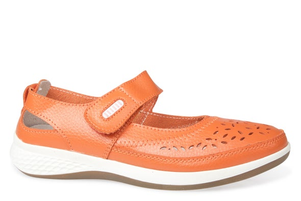 Hero Image for Dena Strappy Leather Shoe