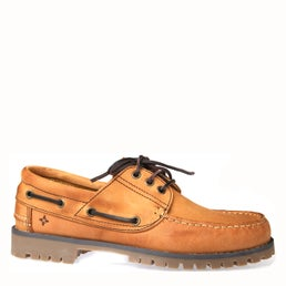 Discovery Leather Boat Shoe