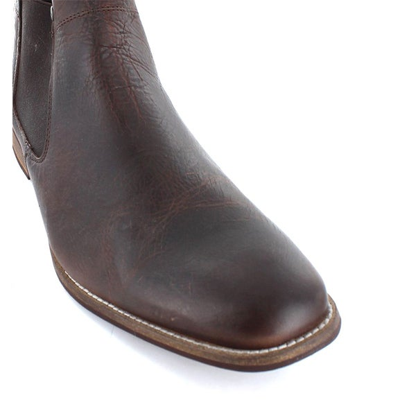 Top Image for Drake Leather Slip-on Boot