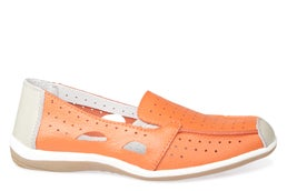 Dreama Leather Slip-on Shoe