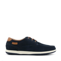 Dusty Leather Boat Shoe