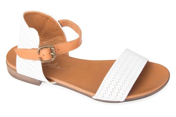 Angle Image for Filipa Strappy Leather Sandal