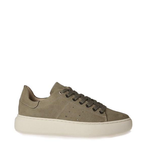Hero Image for Ingeborg leather lace-up sneaker