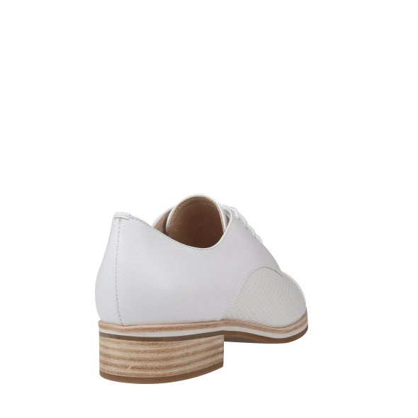 Back Image for Jenz Leather Lace up Shoe