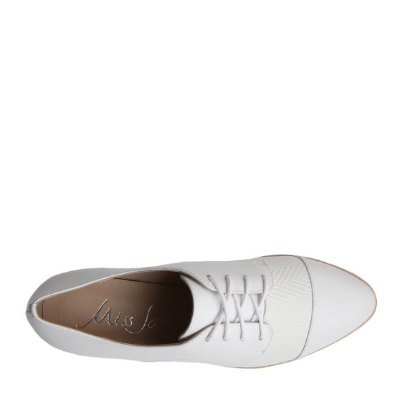 Top Image for Jenz Leather Lace up Shoe