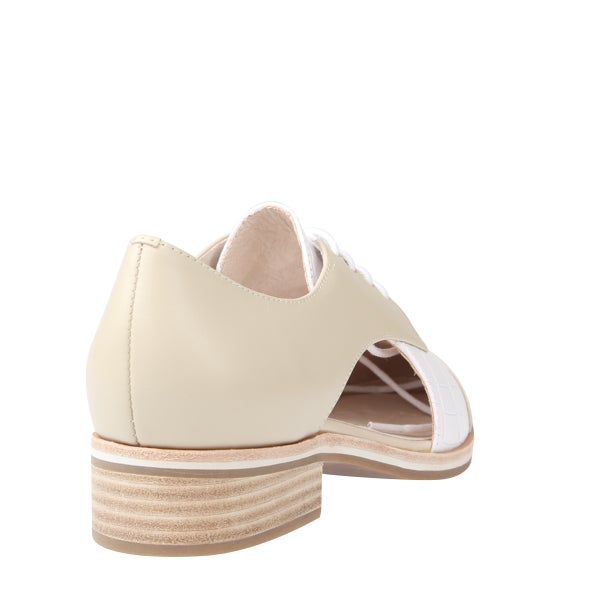 Back Image for Jerri Leather Lace up Shoe