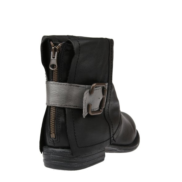 Back Image for Jessy Buckle Leather Boot