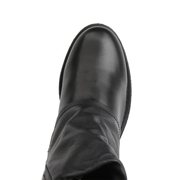 Top Image for Jessy Buckle Leather Boot