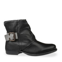Jessy Buckle Leather Boot
