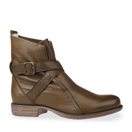 Jessy Strap Leather Boot