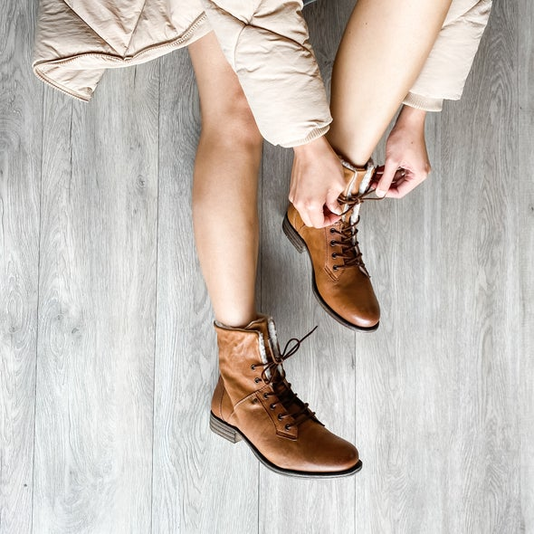 Angle Image for Jessy Sherling Leather Boot