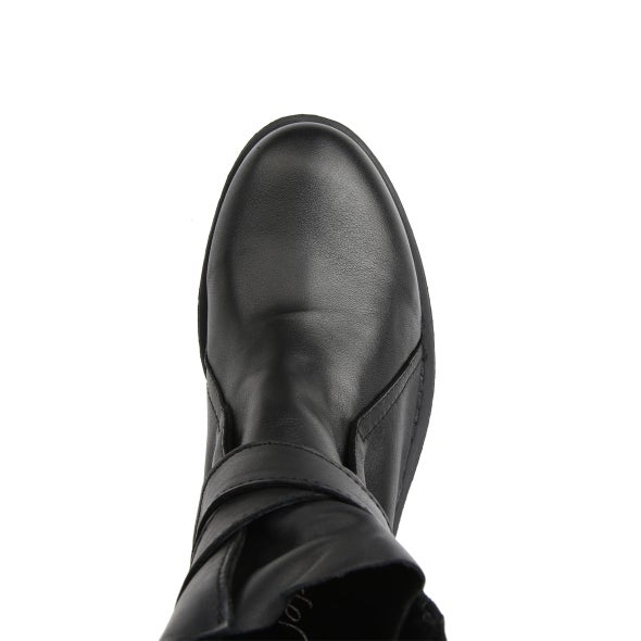 Top Image for Jessy Strap Leather Boot