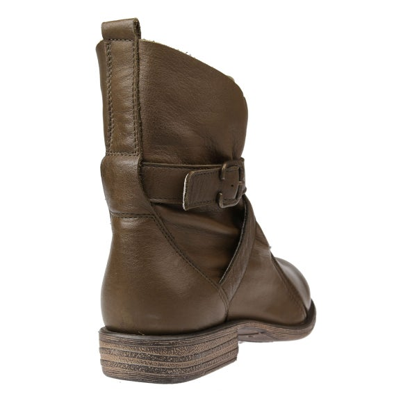 Back Image for Jessy Strap Leather Boot