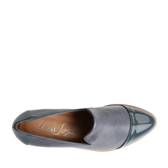Top Image for July leather slip on shoe