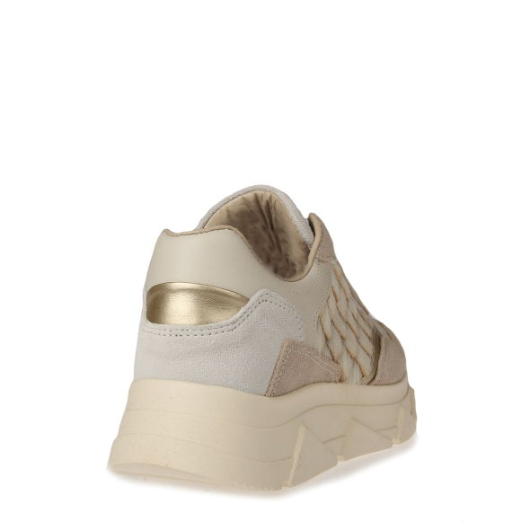 Back Image for Kady Leather Lace-up Sneaker