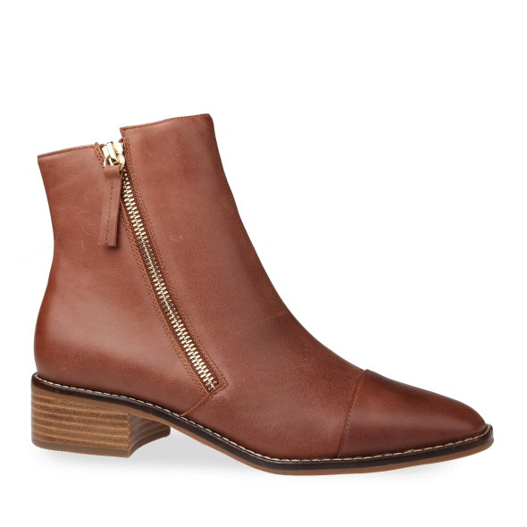 Hero Image for Kelli Leather Ankle Boot