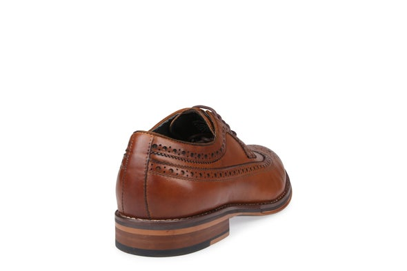 Back Image for Kenneth Leather Brogue Shoe