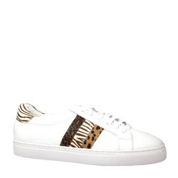 Kitty Leather Lace-up Sneaker