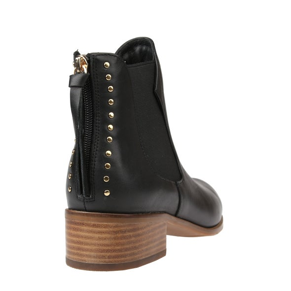 Back Image for Kye Leather Ankle Boot